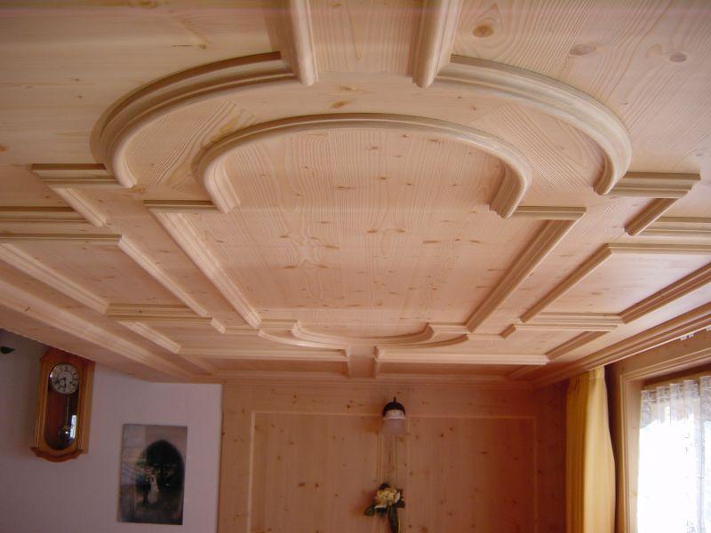 Favorito Soffitti in legno. Soffitti su misura da falegnameria artigiana YC98